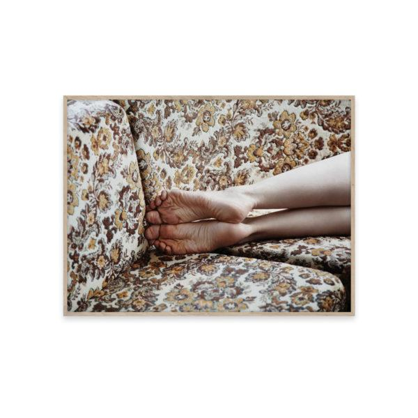 Restless Feet Photo Art Print