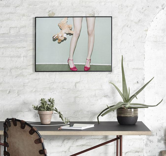 Bambi Heels Photo Art Print
