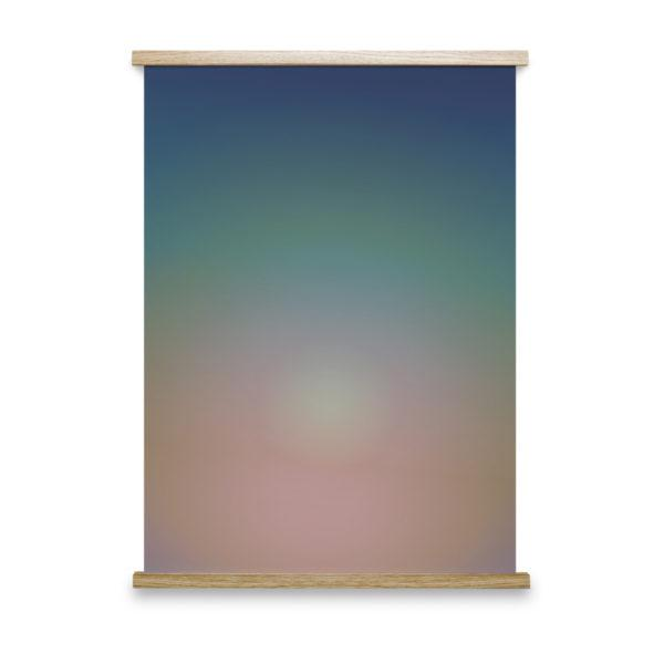 Hazy Sun No 1 Art Print