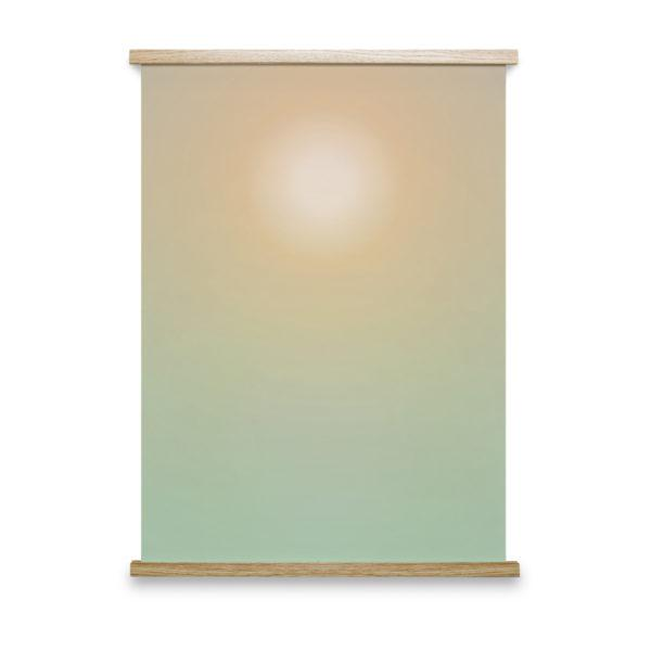 Hazy Sun No 3 Art Print