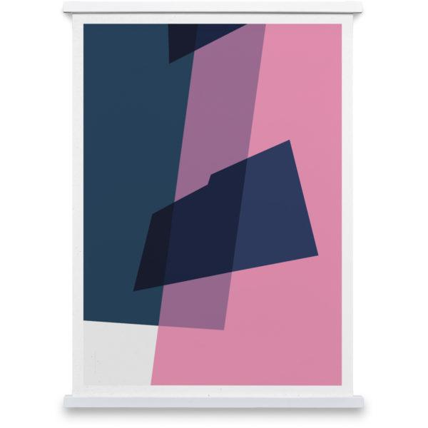Plus Pink No 2 Art Print