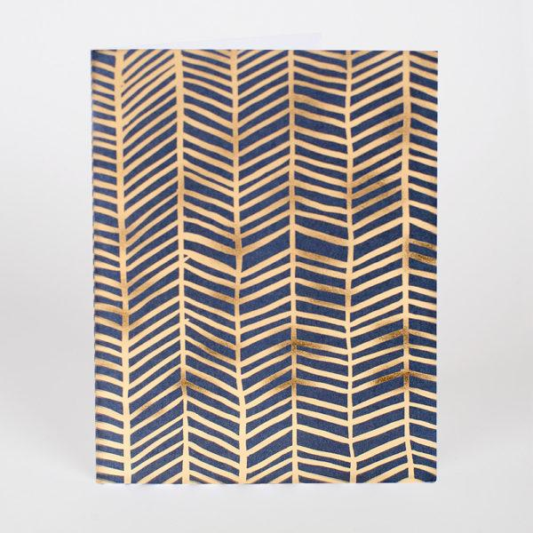 Herringbone Card
