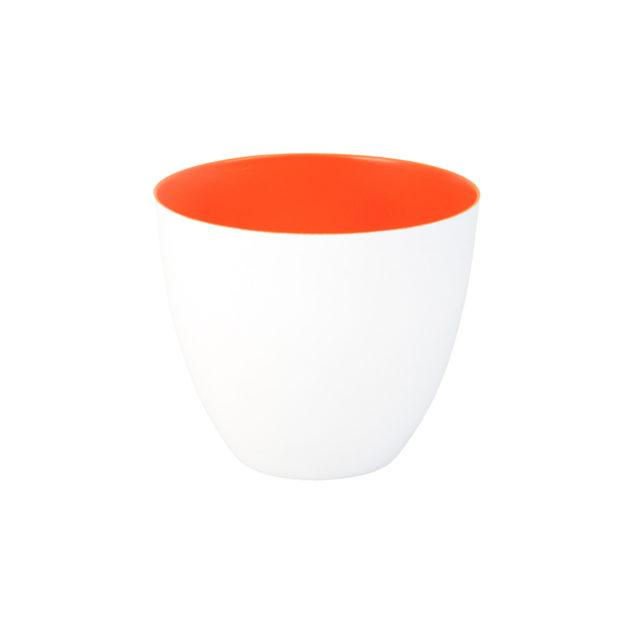 Fluorescent Orange Tealight Holder