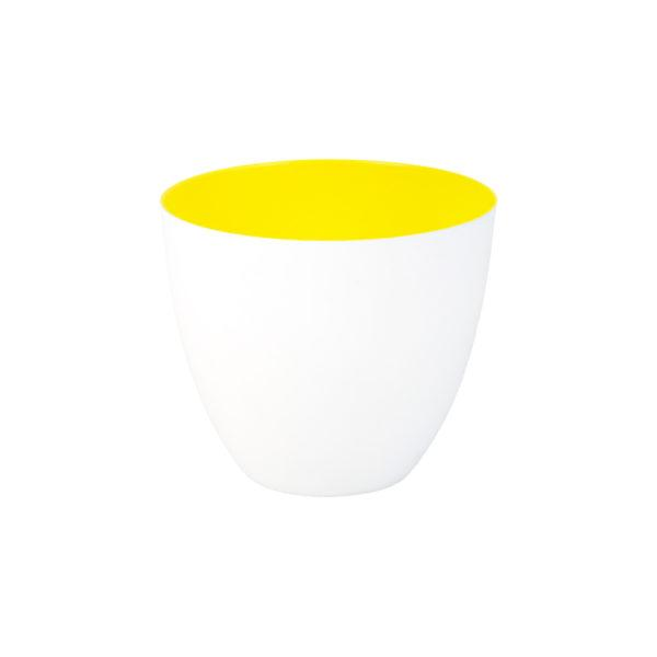 Fluorescent Yellow Tealight Holder
