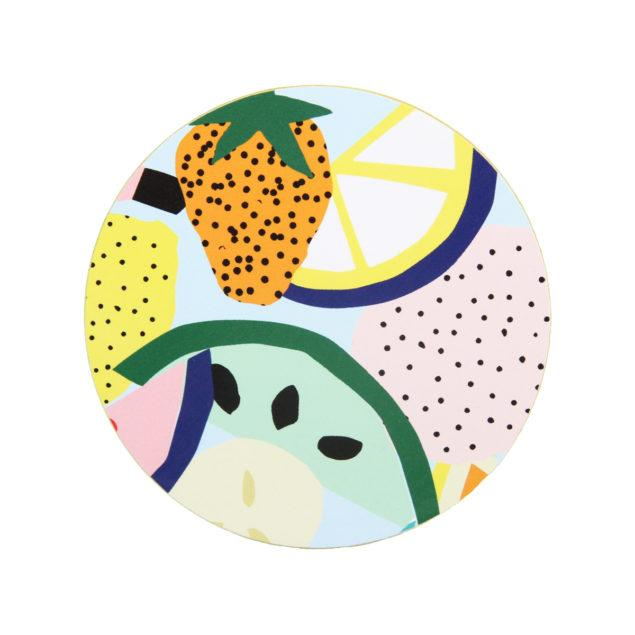 Set of 6 Fruity Coasters