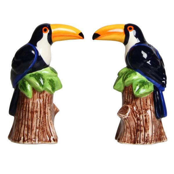 Toucan Salt and Pepper Shakers