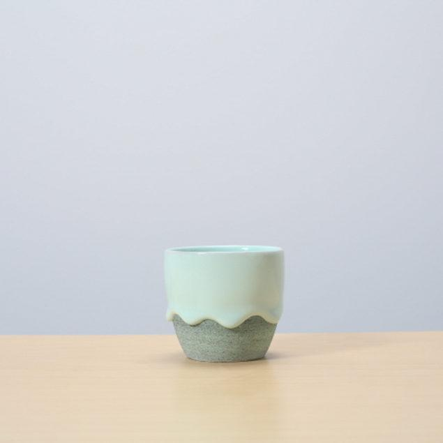 Mint/Pistachio Glazed Ceramic Drip Pot
