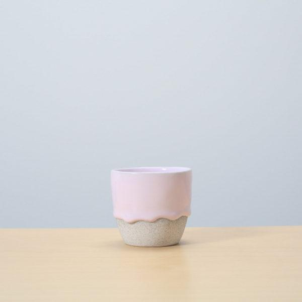 Bubblegum/Ash Glazed Ceramic Drip Pot