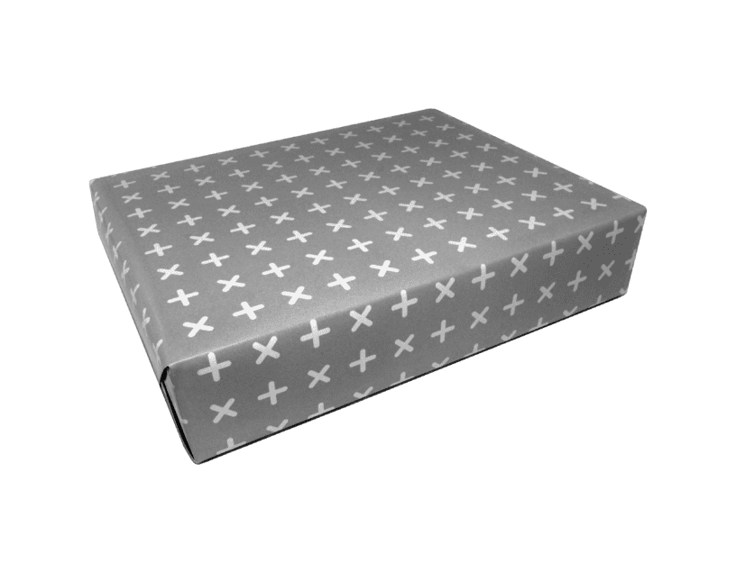 Criss Cross Wrapping Paper x 3 Sheets