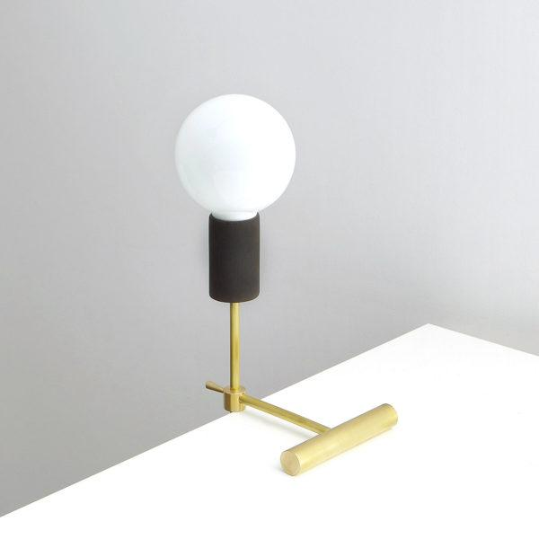 Modern Solid Brass Adjustable Balance Table Lamp