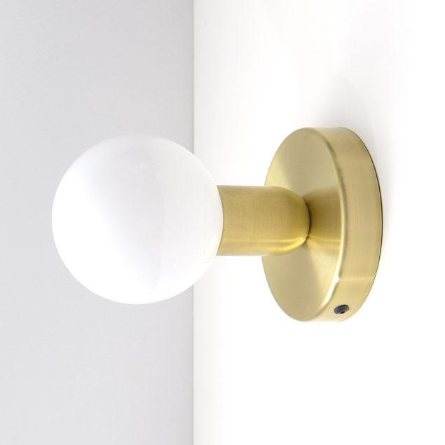 Pair of Solid Brass Celing/Wall Lamps