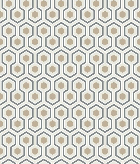 Hicks' Hexagon Wallpaper