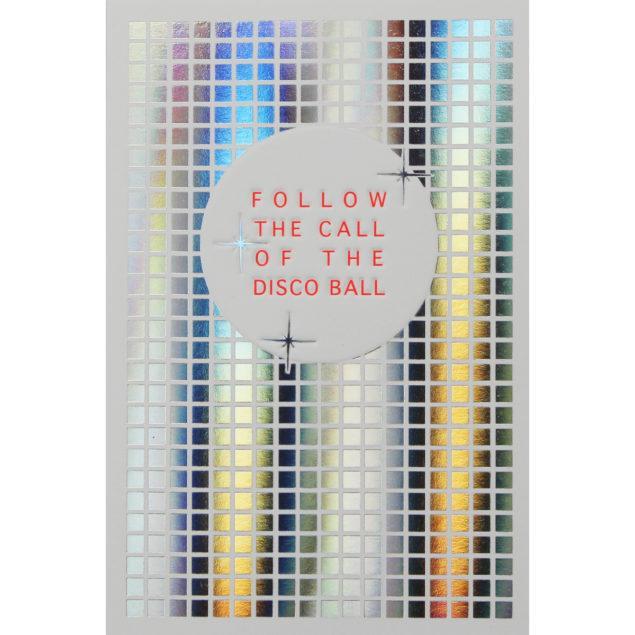 Disco Ball Birthday Card