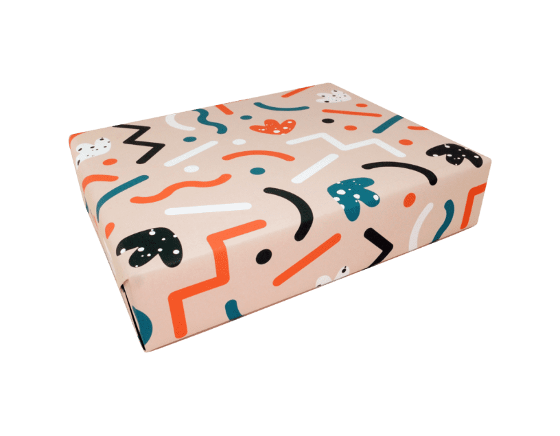 Spring Wrapping Paper x 3 Sheets