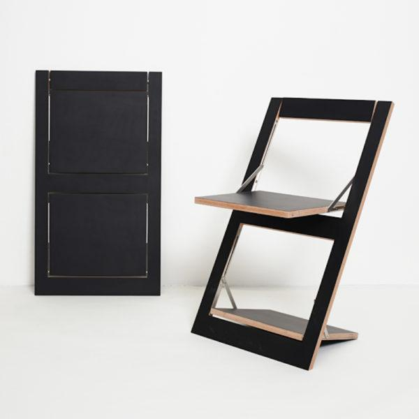 Fläpps Folding Chair – Black