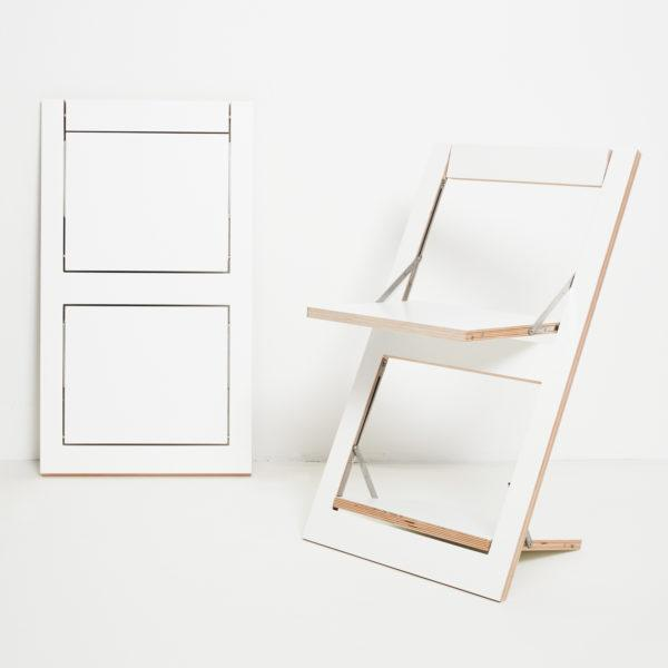 Fläpps Folding Chair – White