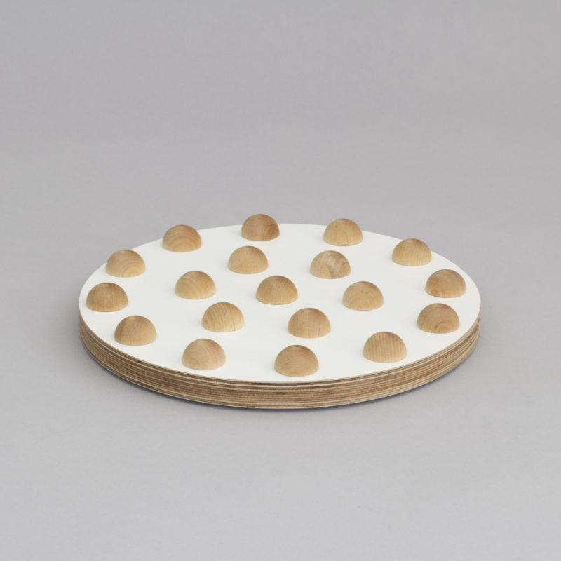 White Birch Plywood  25cm Fruit Tray