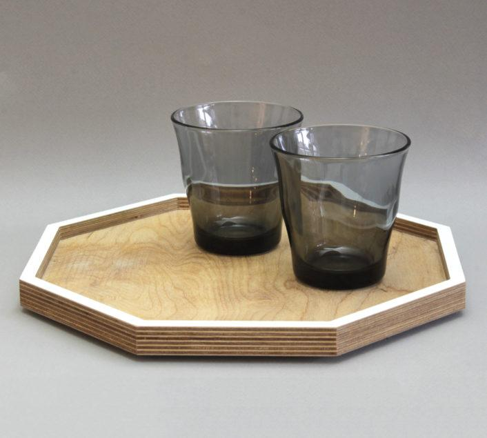 Birch Plywood Rectangular Serving Tray