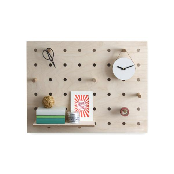 Peg-it-all Little Pegboard with Shelf & Pegs