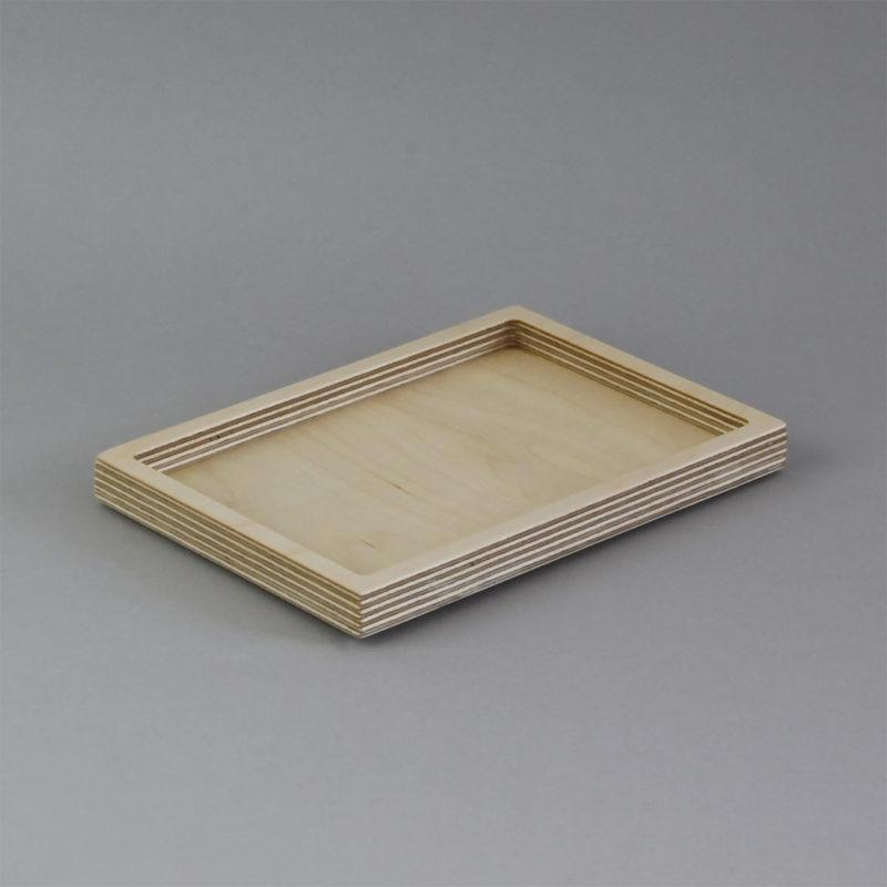 Rectangular Birch Plywood Desk Tidy
