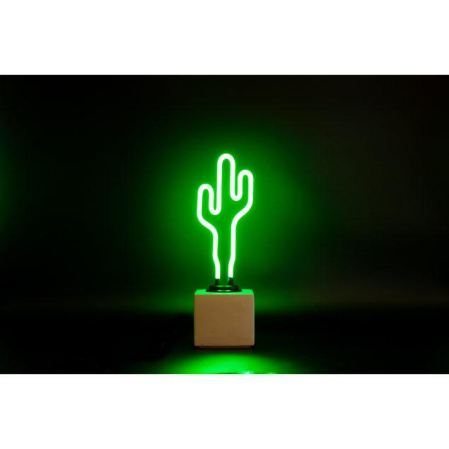Mini Neon Cactus Light