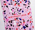 So Much Love Cut Out Greetings Card