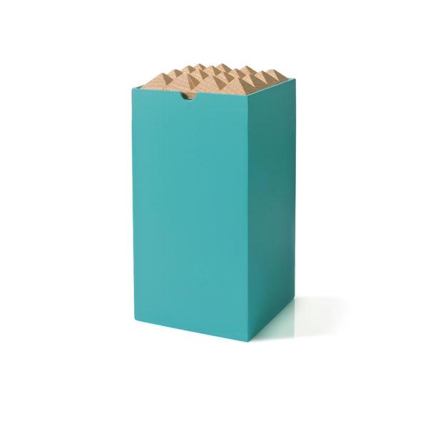Turquoise Large Pyramid Trinket Box