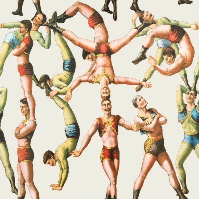 The Acrobats Wallpaper