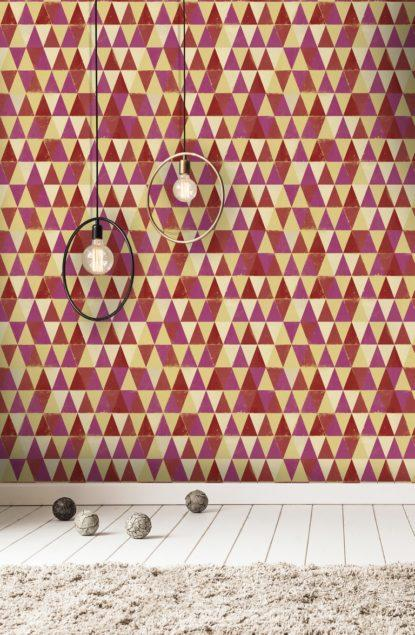 Circus Pattern I Wallpaper