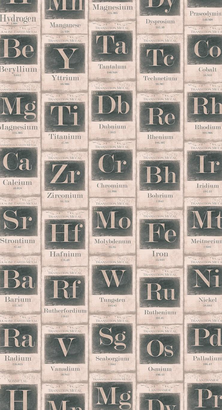 Periodic Table Sand Wallpaper from The