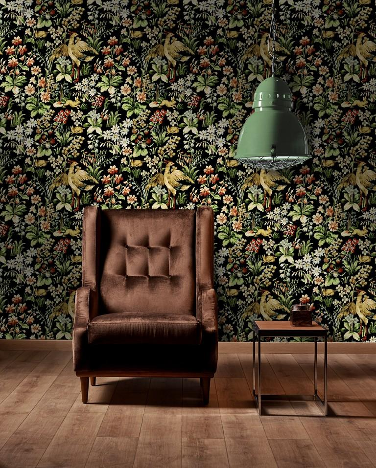 Floral Tapestry Wallpaper