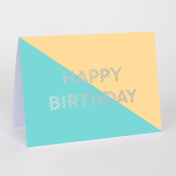 Happy Birthday Divide Card