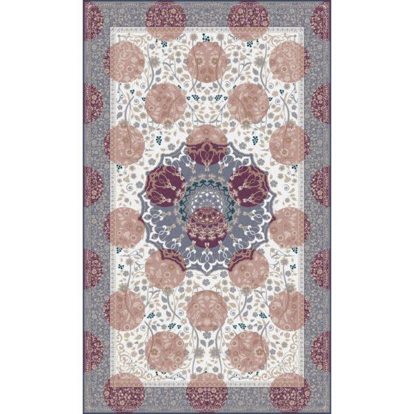 Princely Purple Tufted Rug