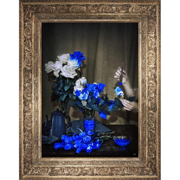 Scent of Cobalt Wall Canvas