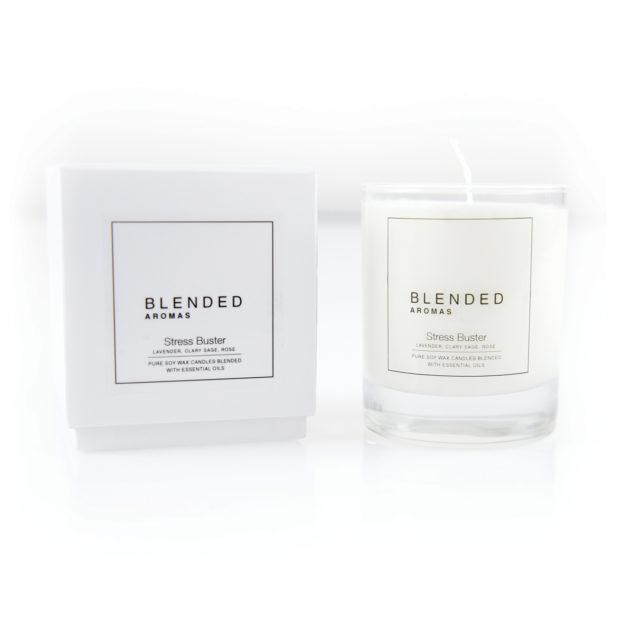 Stress Buster Soy Wax Candle