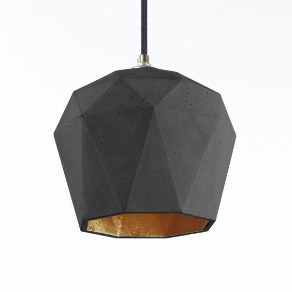 Concrete Triangular Pendant 3
