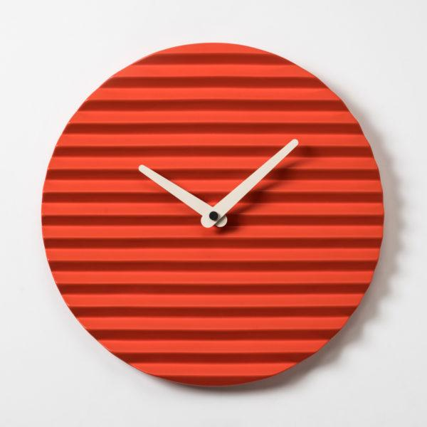 Wave Clock - Red