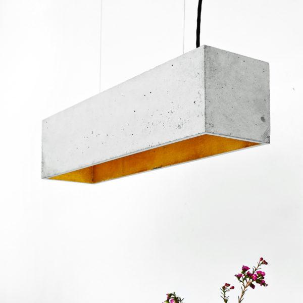 Concrete Rectangular Pendant Light 2