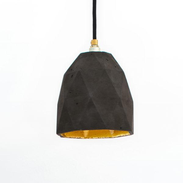 Concrete Triangular Pendant