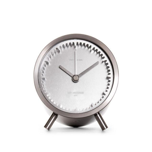 Tube Clock - Steel
