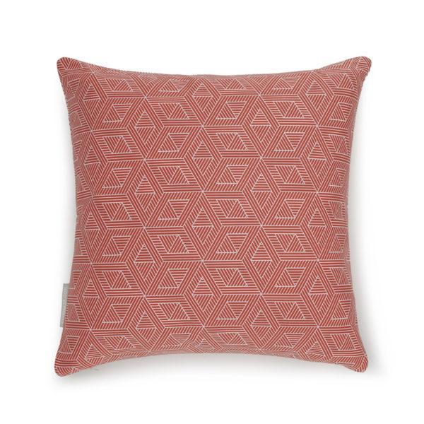 Geometric Double Sided Cushion