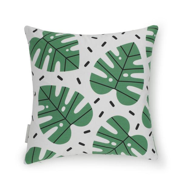 Monstera Double Sided Cushion