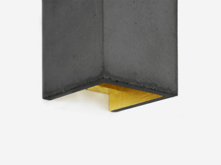 Concrete Rectangular Wall Light