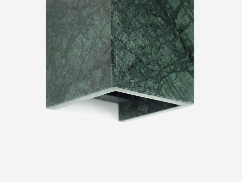 Concrete Rectangular Wall Light - Marble