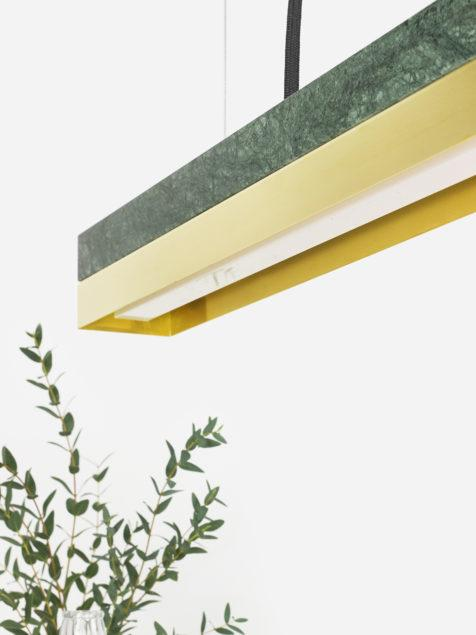 Marble & Brass Pendant Light