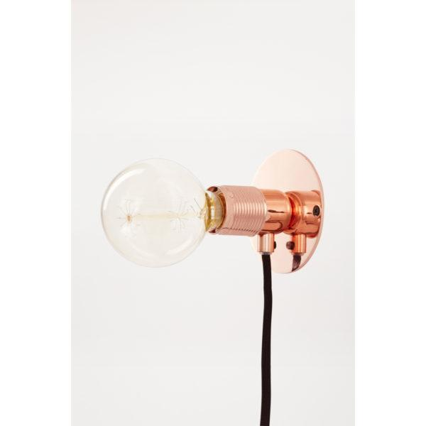 E27 Copper Wall Light