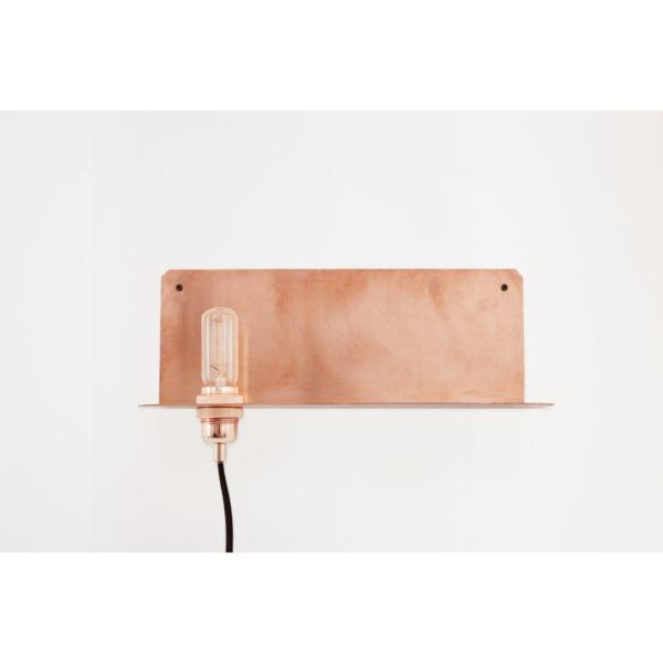 90° Brass Wall Lamp