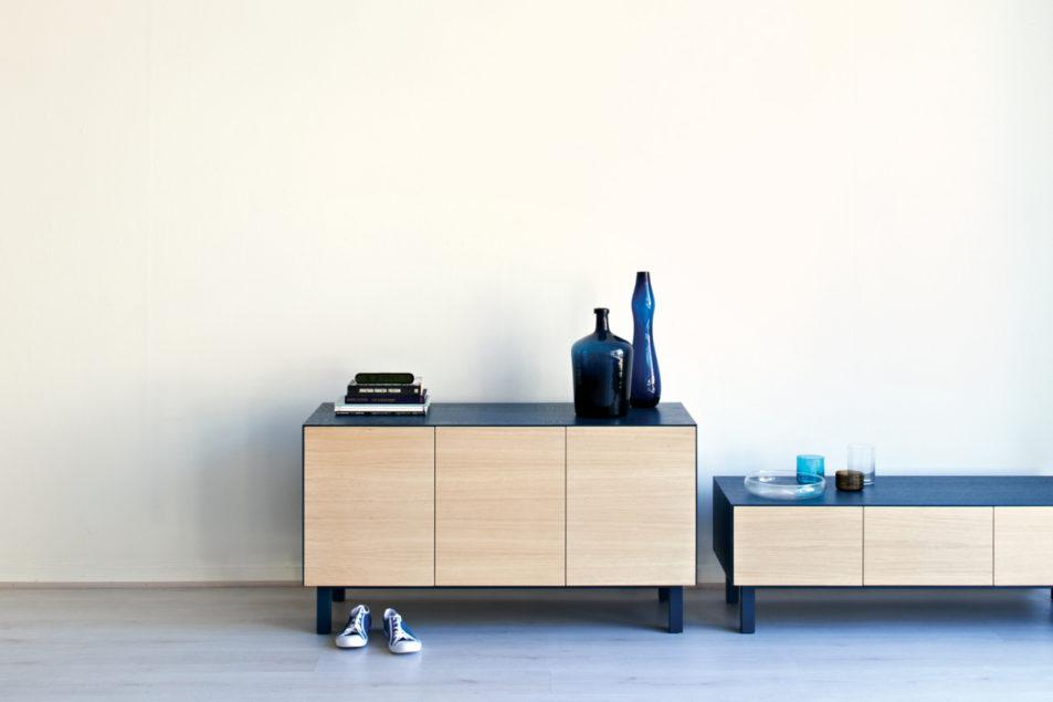 Cubo - Rectangular Sideboard - 3 Doors