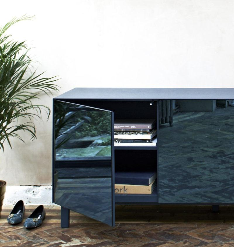 Cubo - Mirror Sideboard - 3 Doors