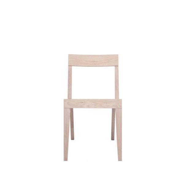Cubo Chair - Wood Seat